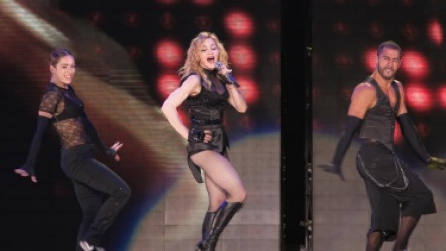 Мадона на сцената в София