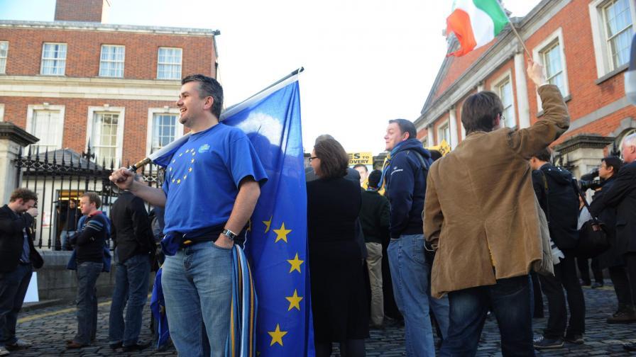 """""""Дойче веле"""": Ирландците не казаха """"да"""" от любов"""
