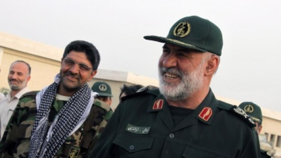 Зам-командващият сухопътните войски на революционните гвардейци, генерал Нур-Али Шущари е един от загиналите