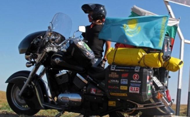 Българският мото пътешественик вече е в САЩ