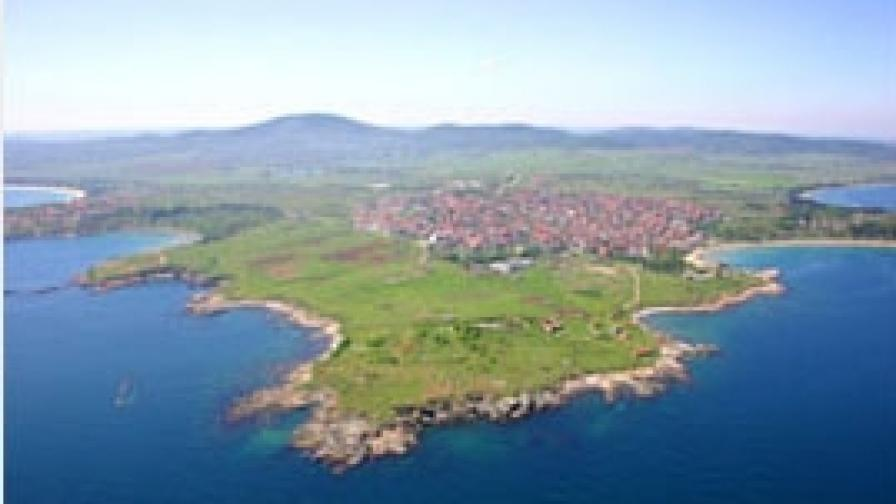 Черноморец стана град