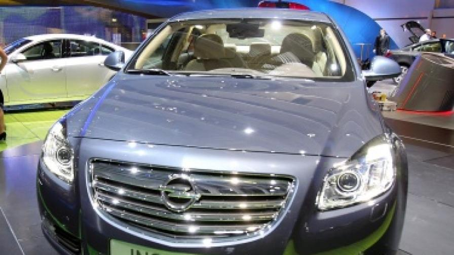 """""""Опел Инсигния"""" бе избран автомобил на 2009 г. за Европа и за автомобил на 2010 г. у нас"""