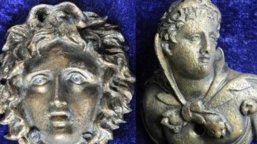 Находки от разкопките край Караново