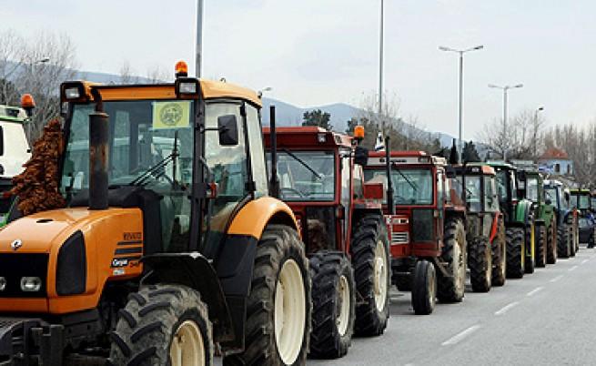 Гръцките фермери блокираха Македония
