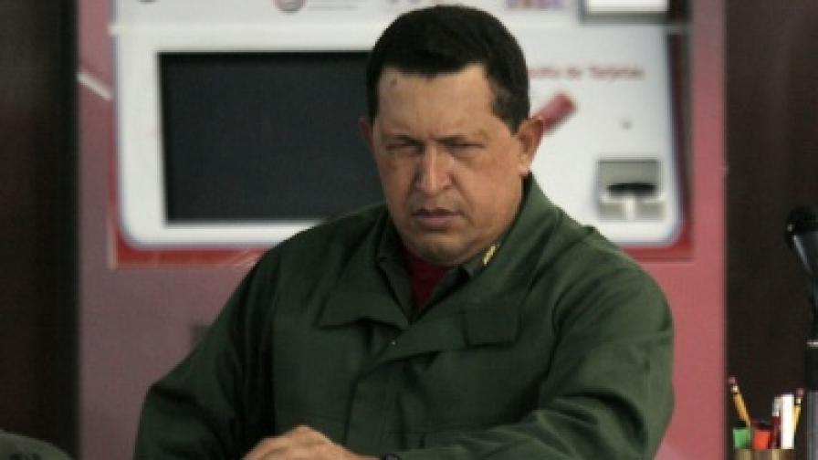 Задължиха телевизиите във Венецуела да излъчват Чавес