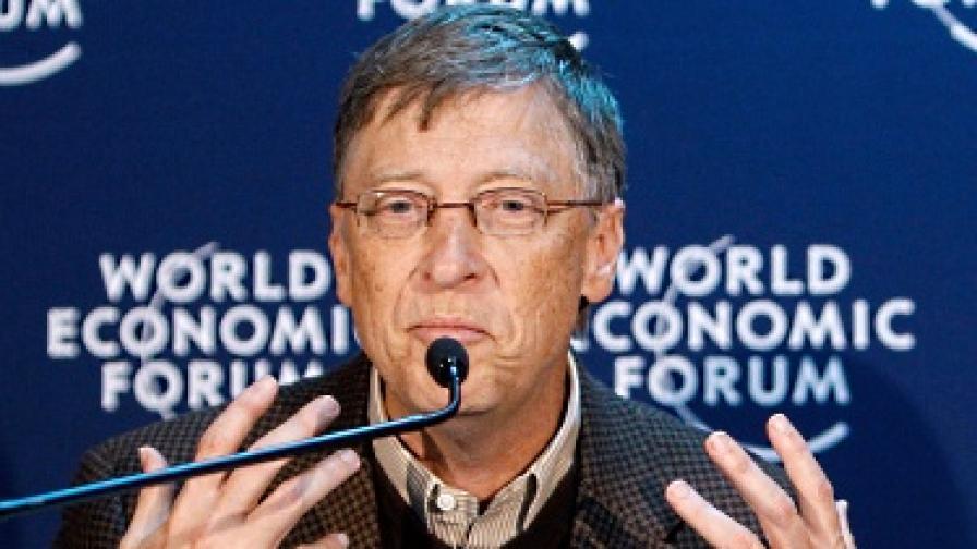 Бил Гейтс ще дари $10 млрд. за ваксини