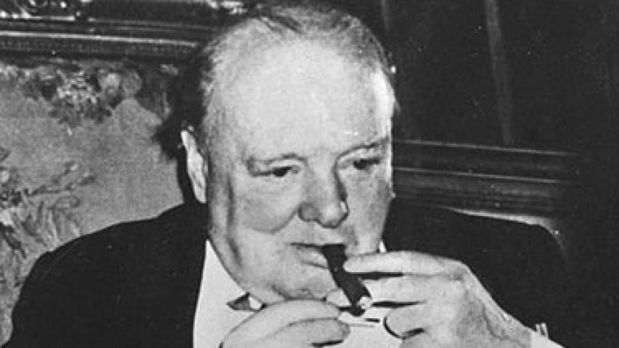 Чърчил в Потсдам, 1945 г.