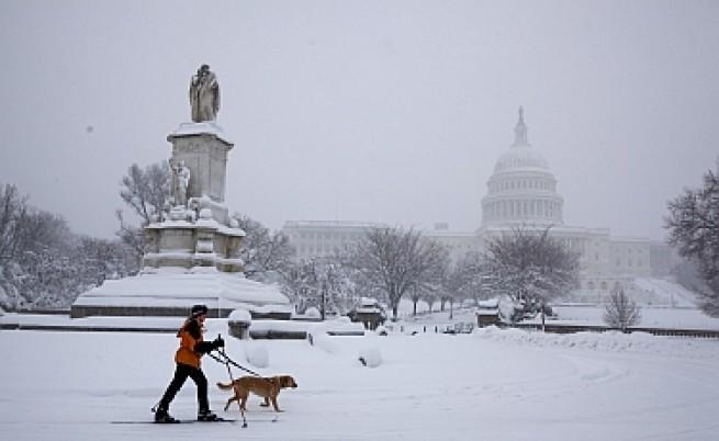 230 хил. души не отидоха на работа във Вашингтон