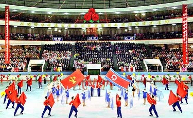 Всенародни тържества в КНДР