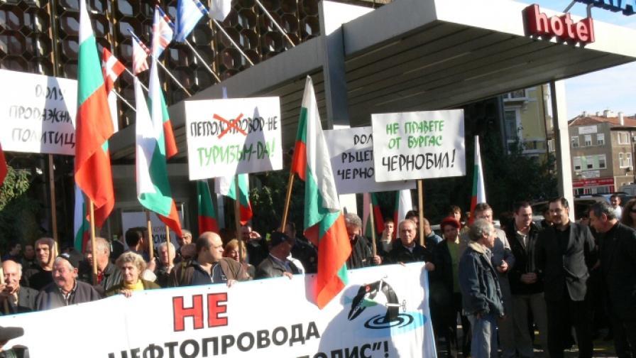 """Още не е ясно вреден ли е проектът """"Бургас-Александруполис"""""""