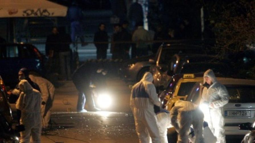 Предотвратиха ново бомбено нападение в Атина
