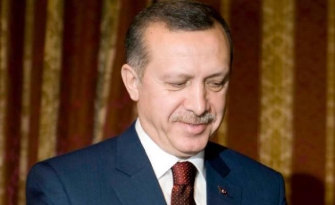 Замериха и Ердоган с обувка