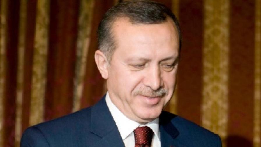 Турския премиер Раджеп Тайип Ердоган