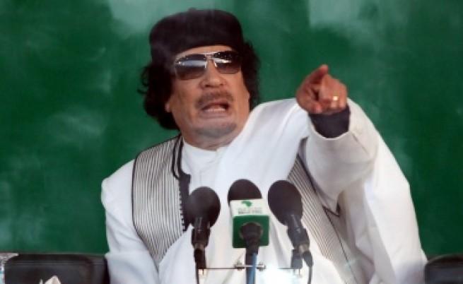 Кадафи призова за джихад срещу Швейцария