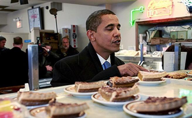 Обама: Само не казвайте на Мишел