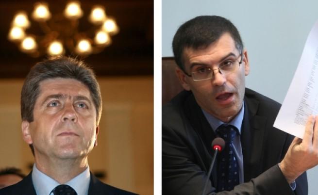 Първанов срещу Дянков: Скандалът се разраства