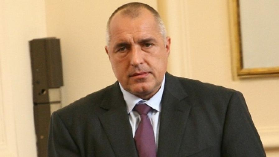 Премиерът Бойко Борисов в парламента