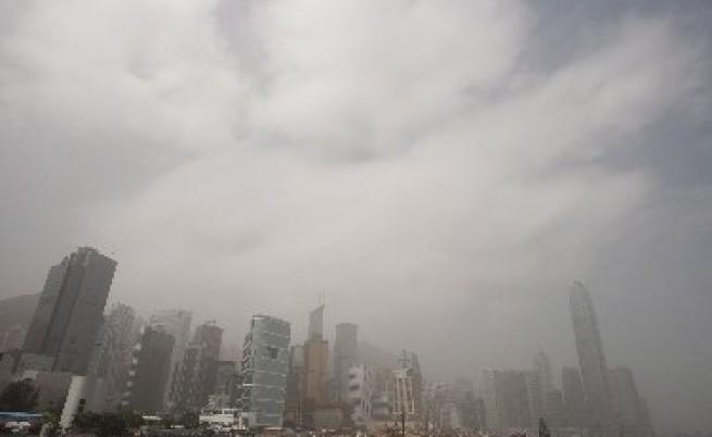Рекордни нива на замърсяване в Хонконг