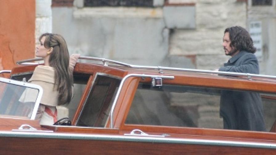 Анджелина Джоли си хареса роля на вещица