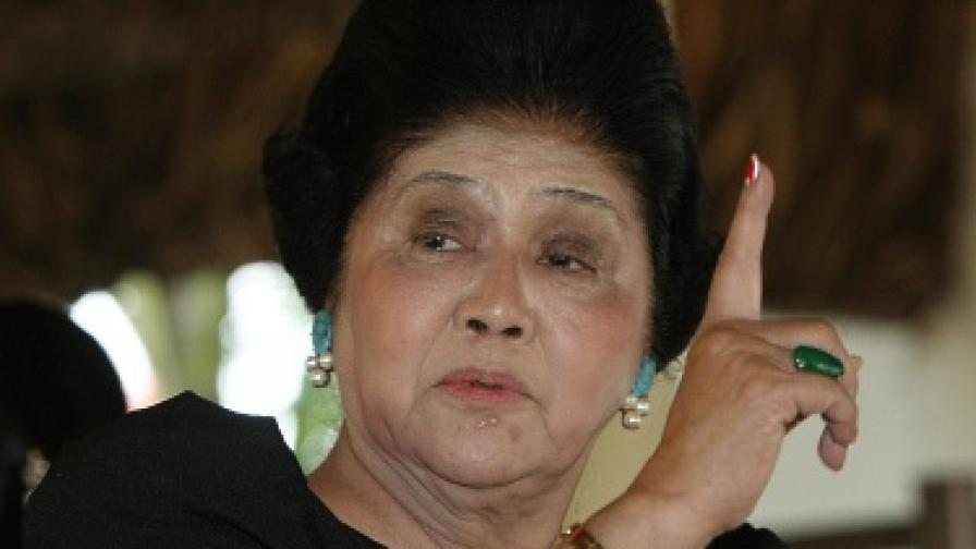На 85 години Имелда Маркос се връща в политиката