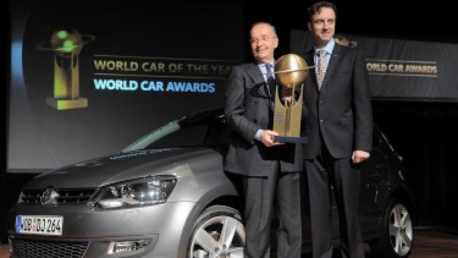 """""""VW Поло"""" - световен автомобил на годината"""