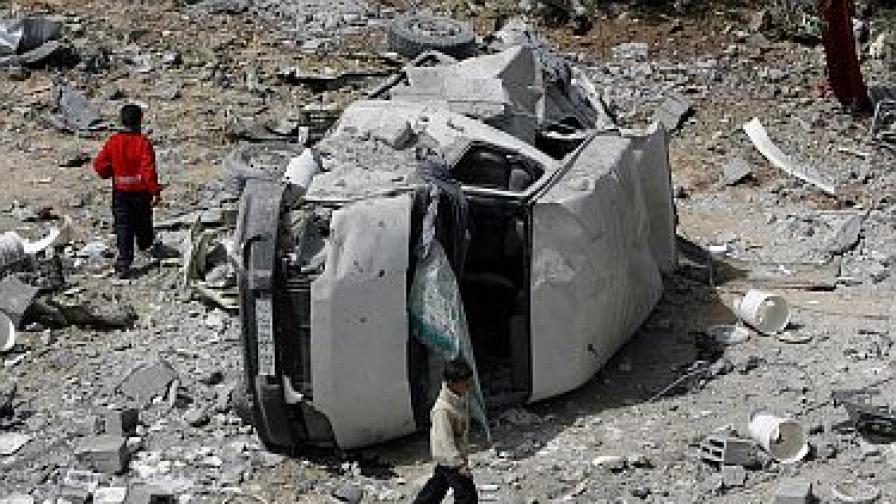Израел пусна дрехи и обувки в Газа за първи път от три години