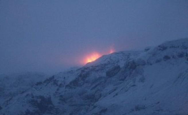 Нов вулкан изригна под исландски ледник