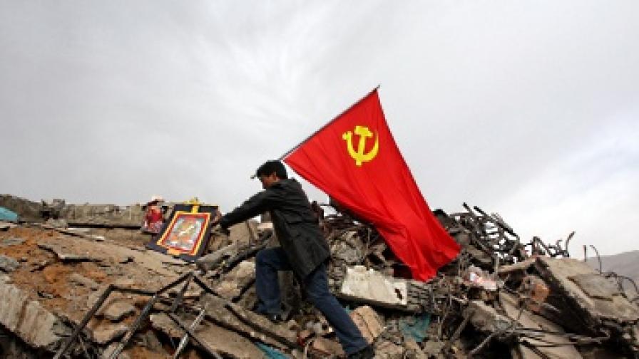 Увеличават се жертвите на труса в Китай