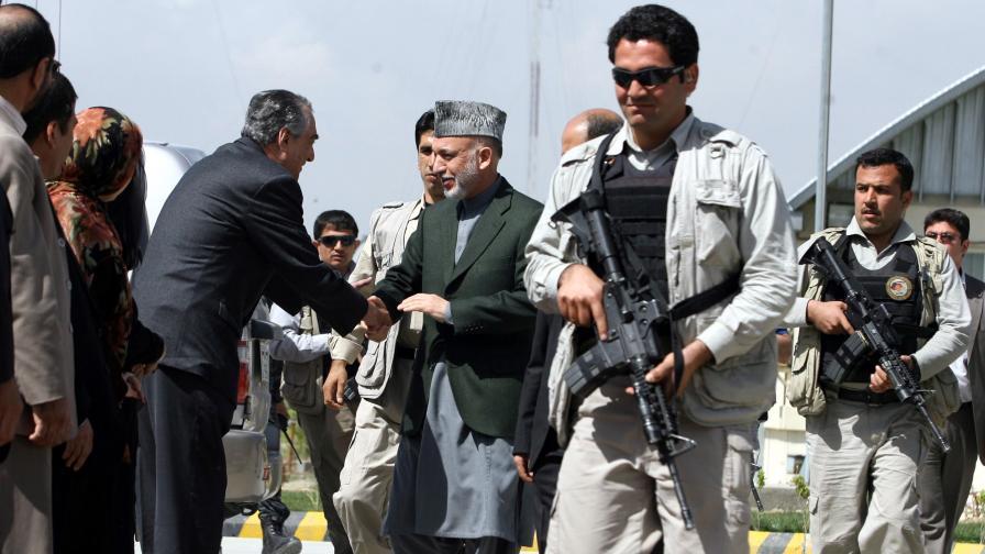 Насилие преди регистрацията за изборите в Афганистан