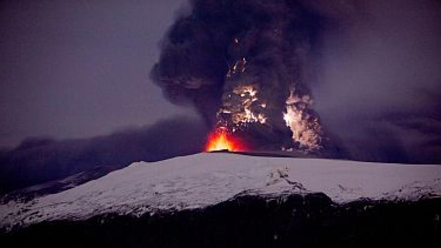 Активността на исландския вулкан спада