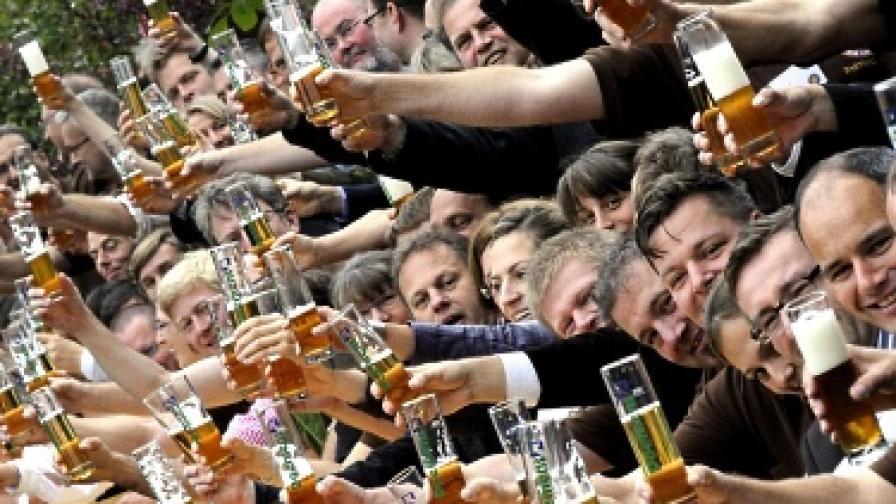 Най-големите пиячи в ЕС