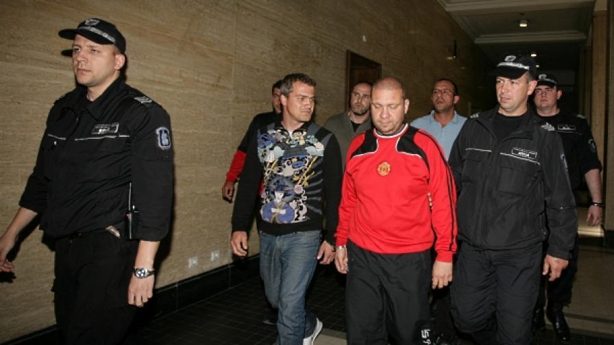 """Софиският градски съд остави в ареста престъпната група на """"Регистраторите"""""""