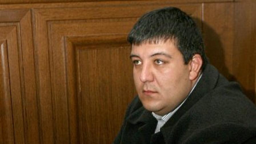 Боян Георгиев в съда през 2008 г.