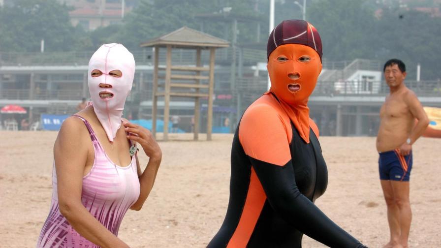 Малко краен, китайски вариант, но ако лицето ви веднага пламва или плувате цял ден - защо не...