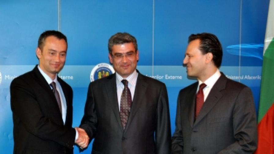 Среща на външните министри на България, Румъния и Гърция