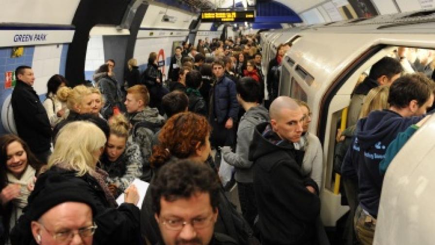 Румънски и български джебчии тормозят лондонското метро