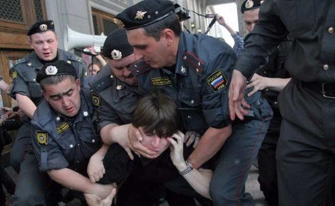 Протестите в Русия - отново нищо