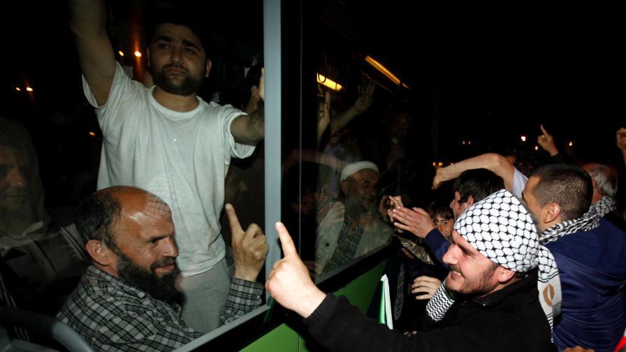 """Посрещането на активистите от """"Мави Мармара"""""""