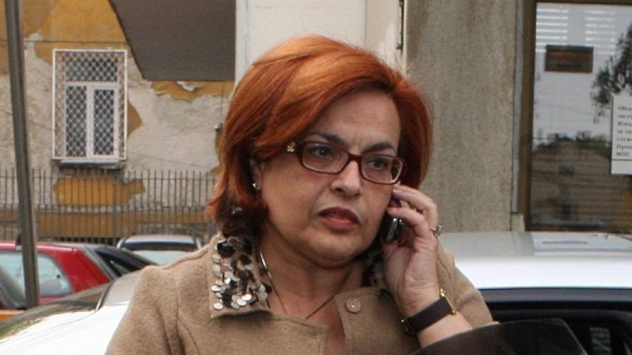 Нина Радева, Бивш депутат от НДСВ и зам.- министър на икономиката и енергетиката (снимка от 2008 г.)