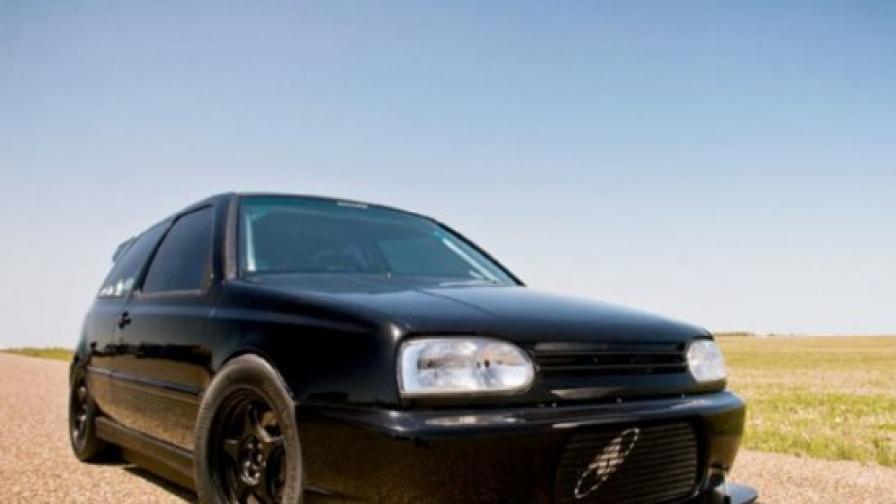 """Най-бързият """"VW Голф""""?"""