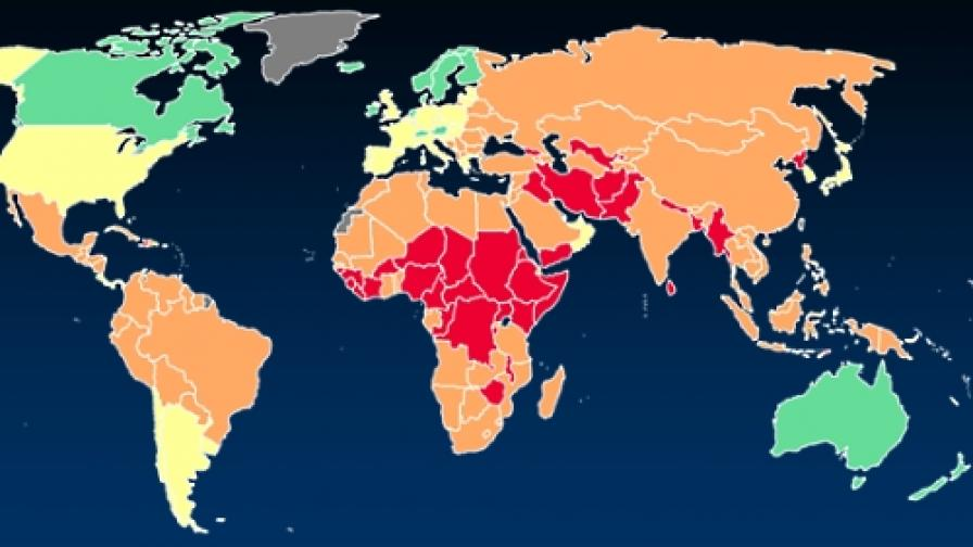 Сомалия е най-провалената държава, Норвегия - най-стабилната