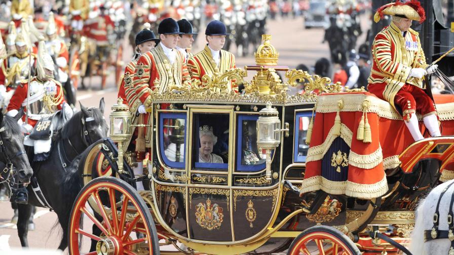Елизабет II похарчила 1,2 млн. лири за гости през 2009 г.