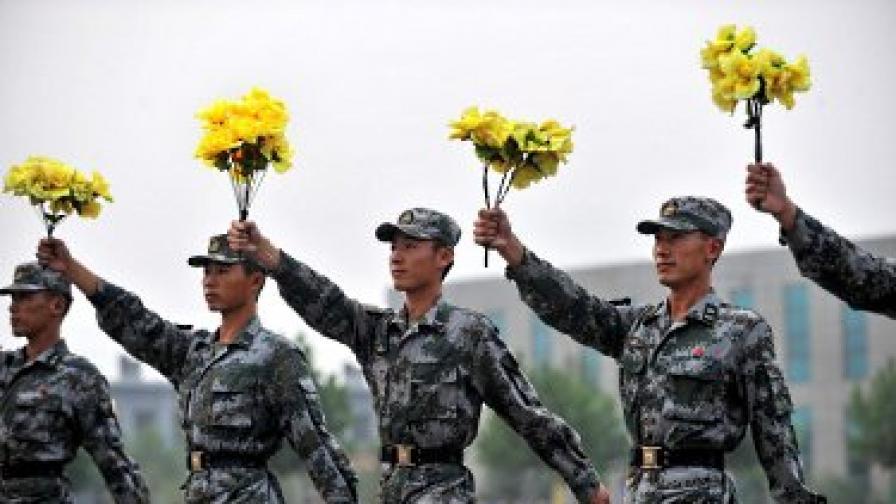 Цензурата превърна военни в сватовници