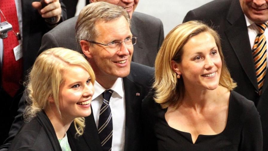 Кристиан Вулф - елегантният президент
