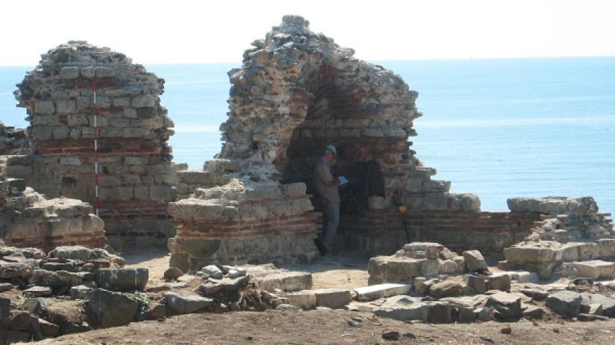 На остров Св. Иван при Созопол е открит реликвариум с мощи на Св. Йоан Кръстител