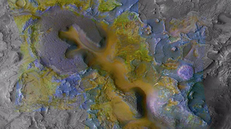 Откриха останки от древен живот на Марс