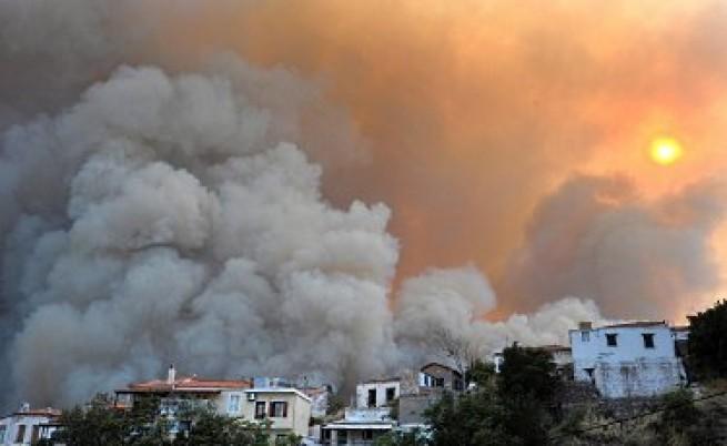 Над 300 нови огнища на пожари в Русия само за ден