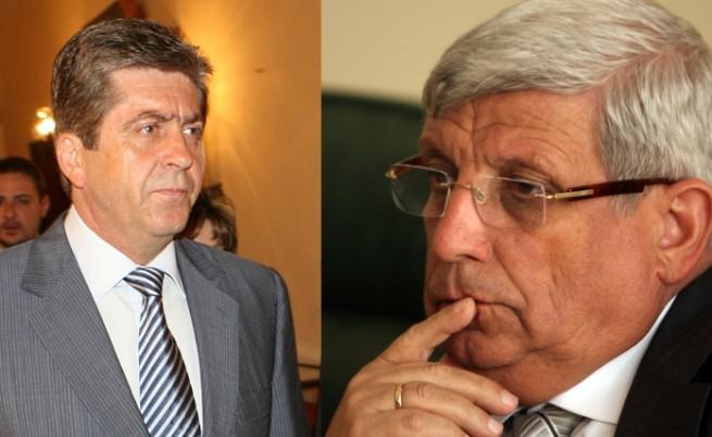 Първанов пак се скара с военния министър