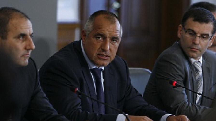Борисов: Първанов с кой ли министър няма проблем?!
