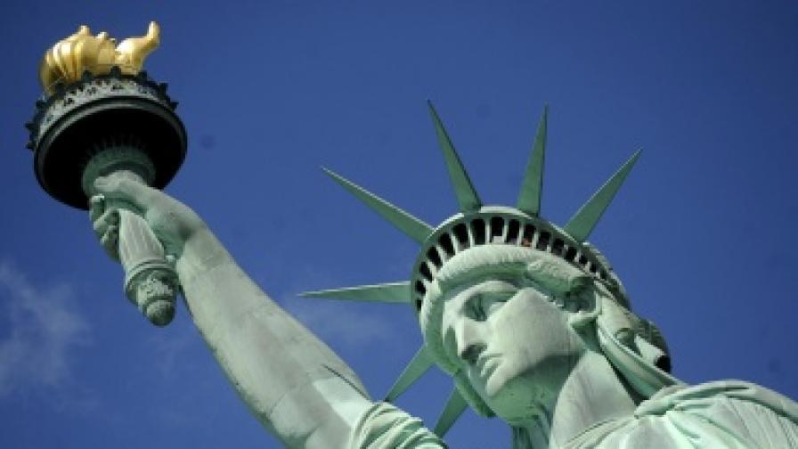 Статуята на свободата в ремонт